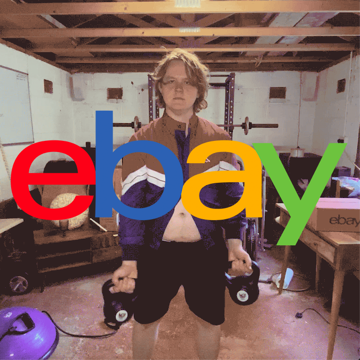 Lewis Capaldi Does Lockdown With Ebay