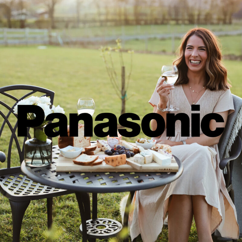 We partnered Panasonic with influencers to cook up their freshest campaign yet