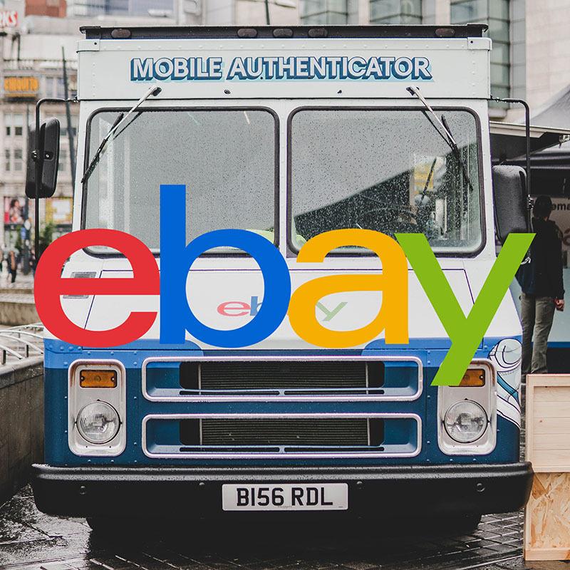 Cruisin' round in eBay's Mobile Authenticator.